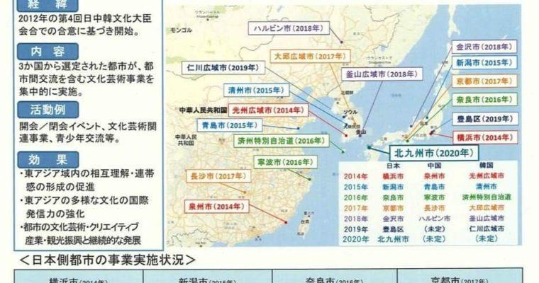 北九州市が2020年東アジア文化都市(国内都市)に選ばれました!